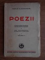 Anticariat: Vasile Alecsandri - Poezii (1943, volumul 2)
