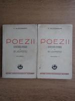 Vasile Alecsandri - Poezii (2 volume, 1937)