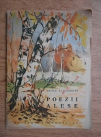 Vasile Alecsandri - Poezii alese