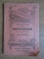 Vasile Alecsandri - Poezii populare ale romanilor (1909)