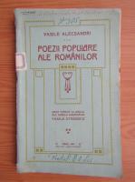 Vasile Alecsandri - Poezii populare ale romanilor (1914)