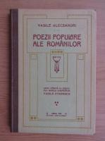Vasile Alecsandri - Poezii populare ale romanilor (Sibiiu, 1914)