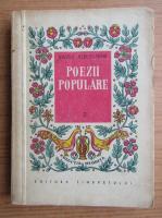 Anticariat: Vasile Alecsandri - Poezii populare