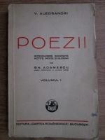 Vasile Alecsandri - Poezii. Volumul 1  (1940)