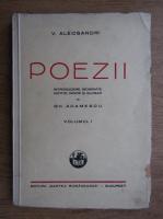 Anticariat: Vasile Alecsandri - Poezii (volumul 1, 1946)