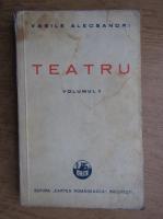 Anticariat: Vasile Alecsandri - Teatru (volumul 2, 1928)