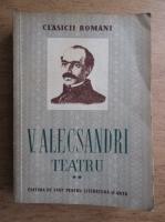 Anticariat: Vasile Alecsandri - Teatru (volumul 2)
