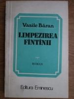 Anticariat: Vasile Baran - Limpezirea fantanii