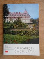 Anticariat: Vasile Berbece - Calimanesti-Caciulata. Petit guide touristique