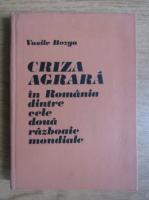 Vasile Bozga - Criza agrara in Romania dintre cele doua razboaie mondiale