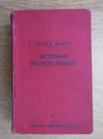 Vasile Glont - Dictionar fracez-roman (1939)