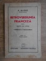 Vasile Glont - Retroversiunea franceza (1941)