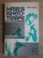 Vasile Marcu - Masaj si kinetoterapie