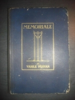 Anticariat: Vasile Parvan - Memoriale (1923)