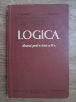 Vasile Pavelcu, I. Didilescu - Logica, manual pentru clasa a XI-a