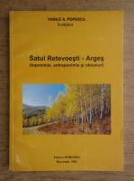 Vasile Popescu - Satul Retevoesti, Arges. Toponimie, antroponimie si obiceiuri