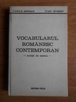 Vasile Serban - Vocabularul romanesc contemporan. Schita de sistem