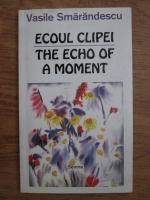 Vasile Smarandescu - Ecoul clipei, the echo of a moment (editie bilingva)