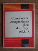Anticariat: Vasile Teodorescu - Compunerile corespondenta si cu destinatie oficiala