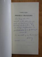 Anticariat: Vasile V. Filip - Poemele tranzitiei (cu autograful autorului)