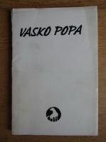 Vasko Popa - Sare de lup (editie bibliofila, tiraj 100 exemplare, cu 10 gravuri de Cristian Tarba)