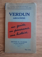 Verdun. Argonne 1914-1918 (ghid turistic, 1937)