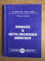 Verginia Vedinas - Introducere in dreptul contenciosului administrativ