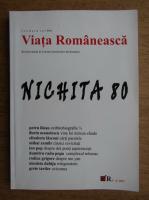 Anticariat: Viata romaneasca. Nichita 80