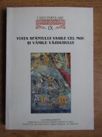 Viata Sfantului Vasile cel Nou si Vamile Vazduhului