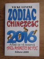 Anticariat: Vicki Levine - Zodiac chinezesc 2016