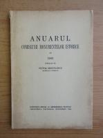 Victor Bratulescu - Anuarul. Comisiuni monumentale istorice pe 1942 (1943)
