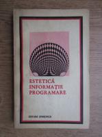 Victor Ernest Masek - Estetica, informatie, programare