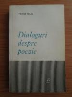 Anticariat: Victor Felea - Dialoguri despre poezie