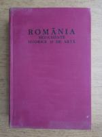Victor H. Adrian - Romania. Monumente istorice si de arta