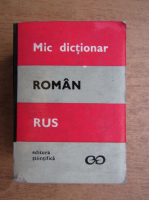 Anticariat: Victor Vascenco - Mic dictionar roman-rus