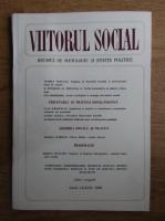 Anticariat: Viitorul social. Revista de sociologie si stiinte politice, iulie-august, 1986