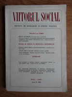 Anticariat: Viitorul social. Revista de sociologie si stiinte politice, martie-aprile 1981