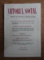 Anticariat: Viitorul social. Revista de sociologie si stiinte politice, martie-aprilie, 1986