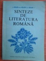Viorel Alecu - Sinteze de literatura romana