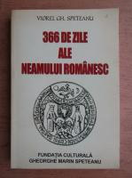 Anticariat: Viorel Gh. Speteanu - 366 de zile ale neamului romanesc