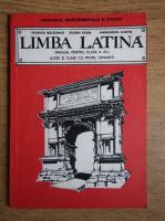 Viorica Balaianu - Limba latina, manual pentru clasa a XI-a, licee si clase cu profil umanist (1991)