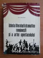 Anticariat: Virgil Bradateanu - Istoria literaturii dramatice romanesti si a artei spectacolului