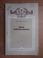Virgil Ianovici - Geologia elementelor radioactive