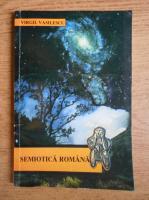 Anticariat: Virgil Vasilescu - Semiotica romana