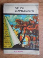 Anticariat: Virgiliu Ene - Studii eminesciene