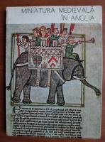 Virginia Cartianu - Miniatura medievala in Anglia