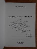 Vitalie Cliuc - Simfonia oglinzilor (autograf)
