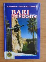 Anticariat: Vito Buono - Bari et la universita