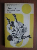 Vlad Grigore N. Lascu - Judo tehnici de lupta la sol