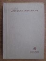 Vladimir Ilici Lenin - Materialism si empiriocriticism. Note critice despre o filosofie reactionara